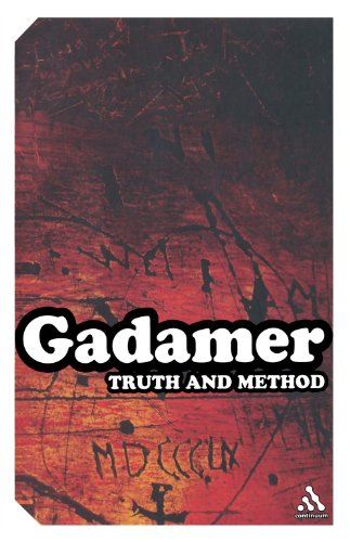 Truth and Method  2nd 2004 edition cover