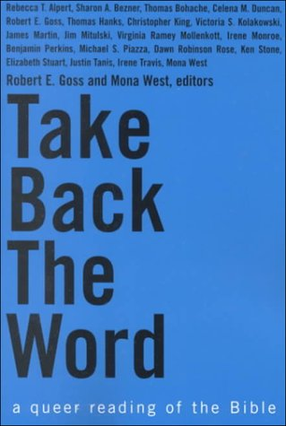 Take Back the Word A Queer Reading of the Bible  2000 edition cover