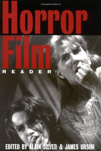 Horror Film Reader   2000 edition cover