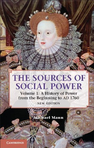 Sources of Social Power A History of Power from the Beginning to AD 1760 2nd 2012 edition cover
