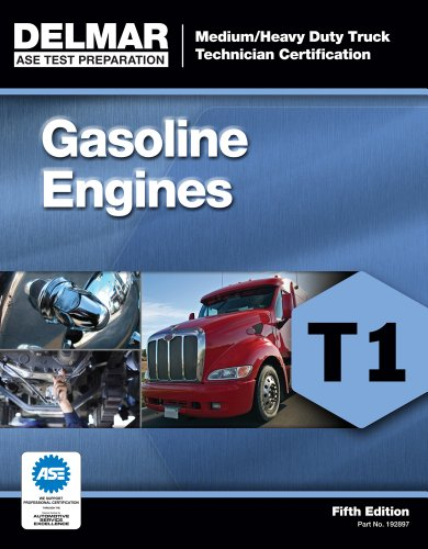 ASE Test Preparation - T1 Gasoline Engines  5th 2012 edition cover