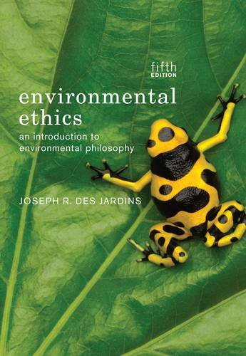 Environmental Ethics  5th 2013 edition cover