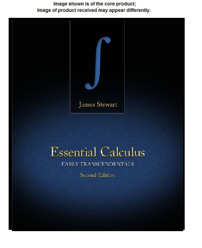 Student Solutions Manual for Stewart's Essential Calculus: Early Transcendentals, 2nd  2nd 2013 (Revised) 9781133490975 Front Cover