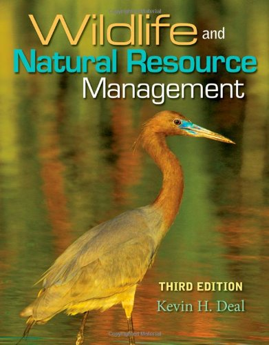 Wildlife and Natural Resource Management  3rd 2011 edition cover