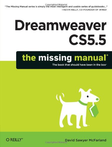 Dreamweaver CS5.5  2nd 2011 edition cover