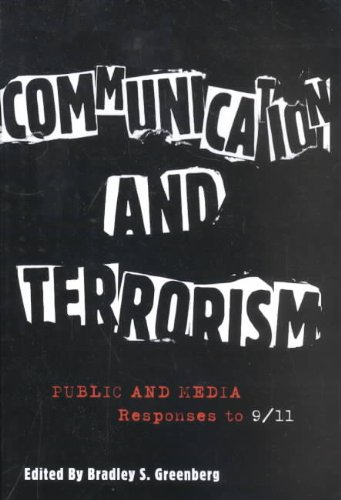 Communication and Terrorism Public and Media Responses to 9/11  2003 edition cover