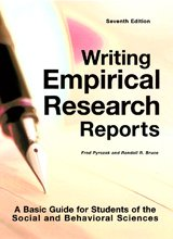 Writing Empirical Research Reports-7th Ed A Basic Guide for Students of the Social and Behavioral Sciences 7th 2011 (Revised) edition cover