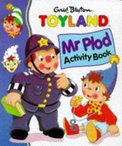 Mr Plod Activity Book   1998 edition cover