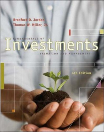 Fundamentals of Investments Valuation and Management 4th 2008 (Revised) edition cover