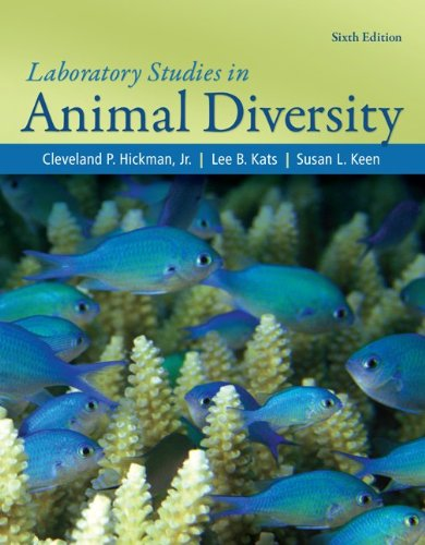 Laboratory Studies for Animal Diversity  6th 2012 edition cover