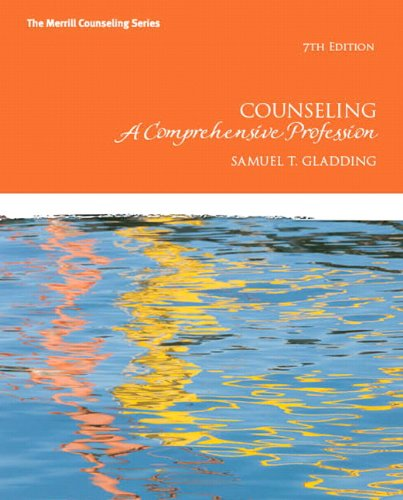 Counseling A Comprehensive Profession 7th 2013 (Revised) edition cover