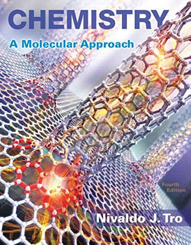 Chemistry + Masteringchemistry With Etext Access Card: A Molecular Approach  2016 9780134103976 Front Cover
