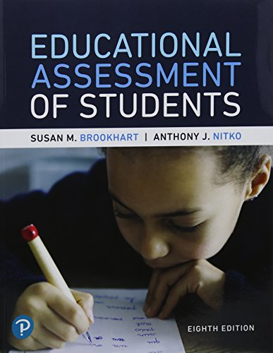 Educational Assessment of Students + Myeducationlab With Pearson Etext Access Card:   2018 9780134806976 Front Cover