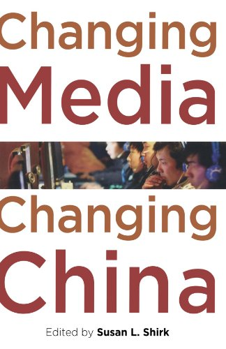 Changing Media, Changing China   2010 9780199751976 Front Cover