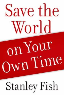 Save the World on Your Own Time   2012 edition cover