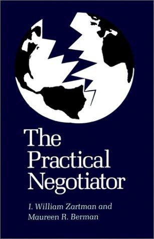 Practical Negotiator   1982 (Reprint) edition cover