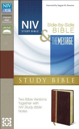 Message Parallel Study Bible  N/A 9780310422976 Front Cover