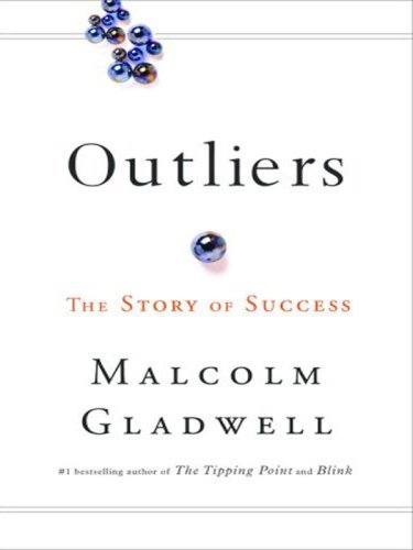 Outliers The Story of Success Large Type  9780316024976 Front Cover