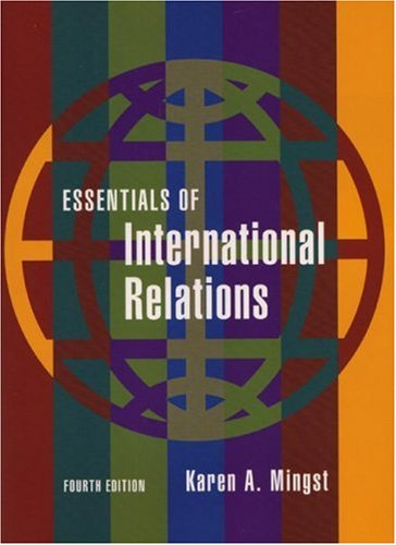 Essentials of International Relations  4th 2008 edition cover