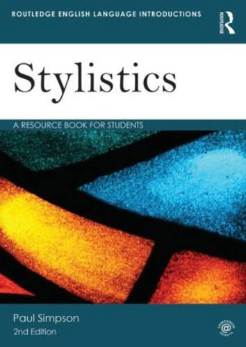 Stylistics A Resource Book for Students 2nd 2014 (Revised) edition cover