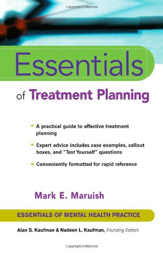 Essentials of Treatment Planning   2002 edition cover