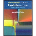 Precalculus Mathematics for Calculus 5th 2006 edition cover