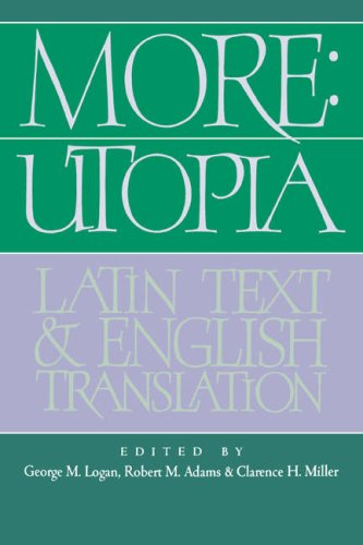 More: Utopia Latin Text and English Translation  2006 9780521024976 Front Cover