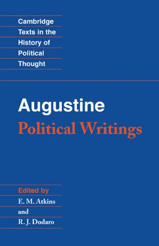 Augustine Political Writings  2001 edition cover