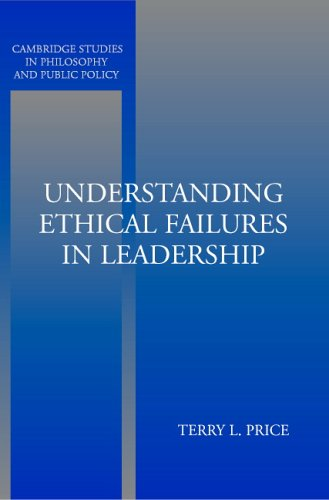 Understanding Ethical Failures in Leadership   2005 edition cover