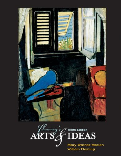 Arts and Ideas  10th 2005 (Workbook) 9780534613976 Front Cover