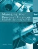 Managing Your Personal Finances  3rd 1997 (Activity Book) 9780538628976 Front Cover