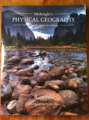 McKnight's Physical Geography California Edition N/A 9780558585976 Front Cover