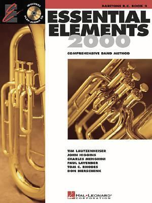 Essential Elements 2000 Bk. 2 : Baritone B. C. N/A edition cover