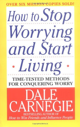 How to Stop Worrying and Start Living   1984 edition cover