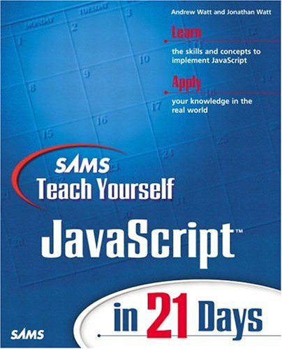 JavaScript in 21 Days   2001 edition cover