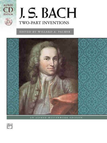 Bach -- Two-Part Inventions Book and CD  2004 edition cover