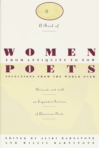 Book of Women Poets from Antiquity to Now   1992 (Revised) edition cover