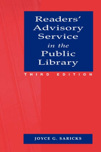 Readers' Advisory Service in the Public Library  3rd 2005 edition cover