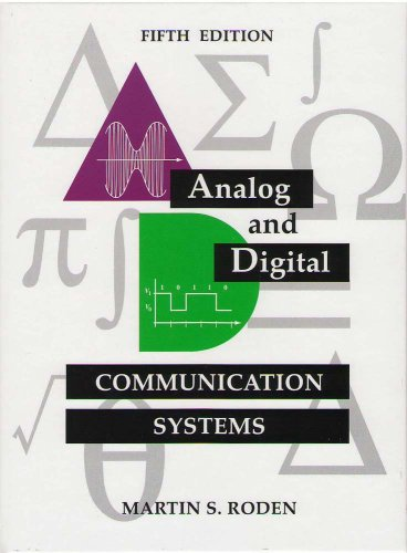Analog and Digital Communication Systems 5th 2003 edition cover