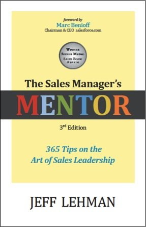 Sales Manager's MENTOR 365 Tips on the Art of Sales Leadership 3rd edition cover