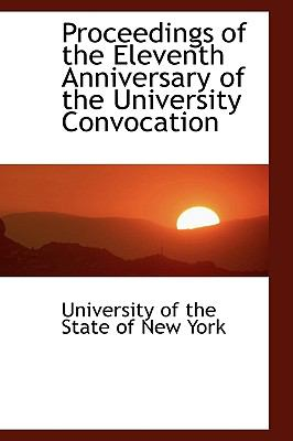 Proceedings of the Eleventh Anniversary of the University Convocation  2009 edition cover