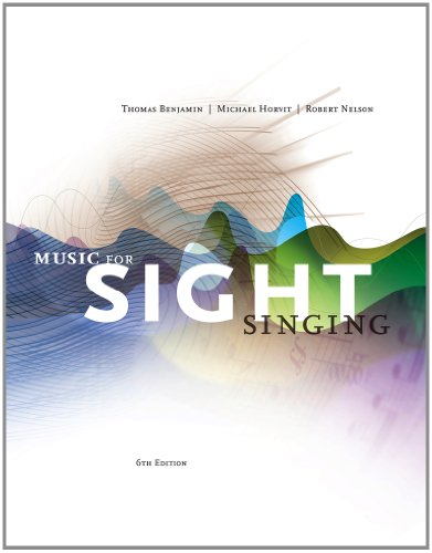 Music for Sight Singing  6th 2013 edition cover