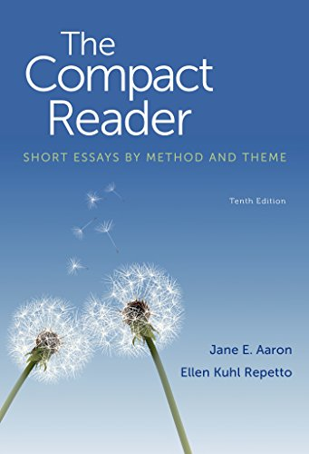 The Compact Reader: Short Essays by Method and Theme  2015 edition cover