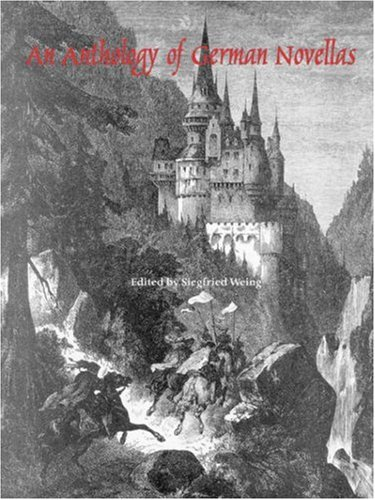 Anthology of German Novellas  N/A edition cover