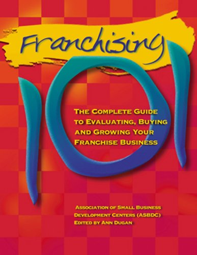 Franchising 101   1998 edition cover