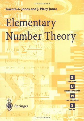 Elementary Number Theory   1998 edition cover