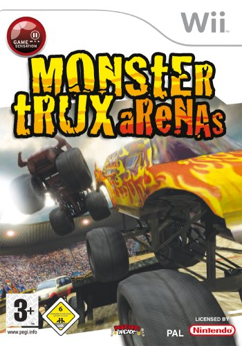 Monster Trux Arenas Nintendo Wii artwork