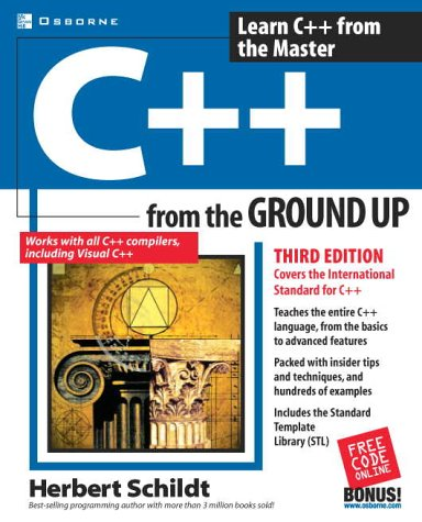 C++  3rd 2003 (Revised) edition cover