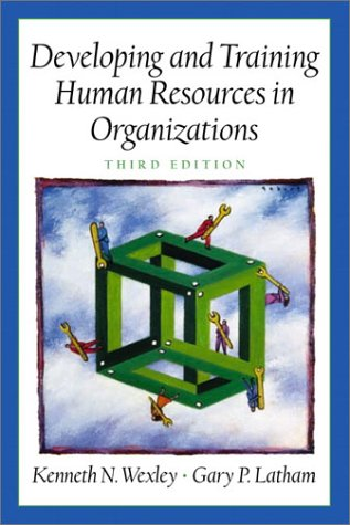 Developing and Training Human Resources in Organizations  3rd 2002 edition cover