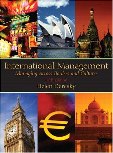 International Management Managing Across Borders and Cultures 5th 2006 edition cover
